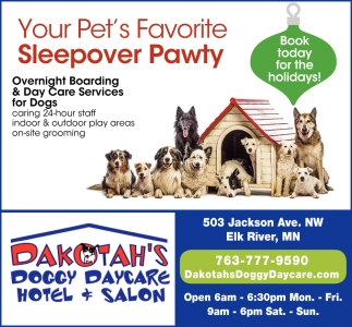Your Pet's Favorite Sleepover Pawty