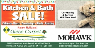 Kitchen & Bath Sale!
