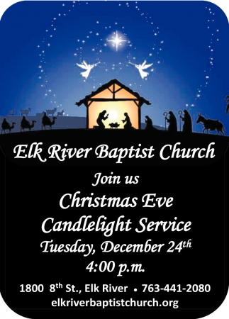 Join Us Christmas Eve Candlelight Service