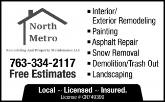 Interior/ Exterior Remodeling