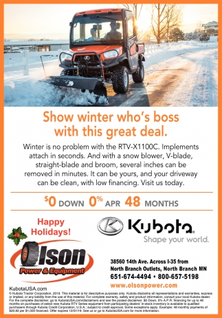 Show Winter Who's Boss with this Great Deal