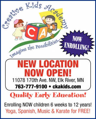 Now Enrolling!