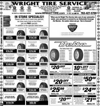 Voted #1 Tire Store