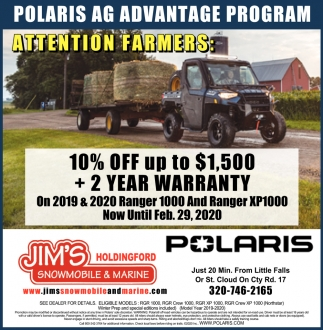 Polaris AG Advantage Program