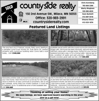 Featured Land Listings