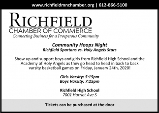 Community Hoops Night