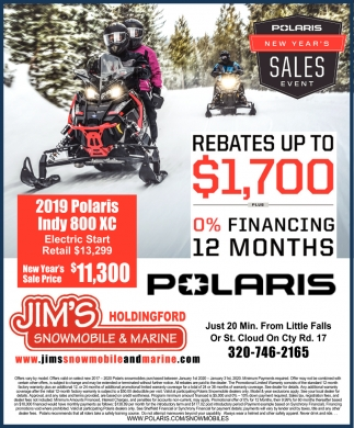 2019 Polaris Indy 800 XC