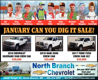 January Can You Dig it Sale!