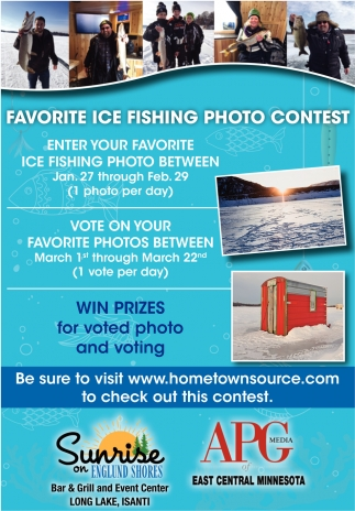 Favorite Ice Fishing Photo Contest