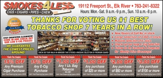 #1 Best Tobacco Shop