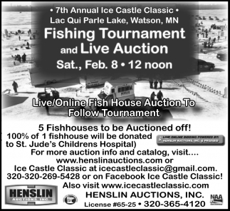 Fish House Auction