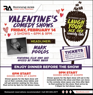 Valentine's Comedy Shows