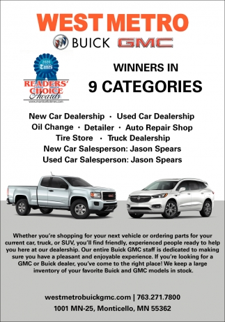 Winners in 9 Categories