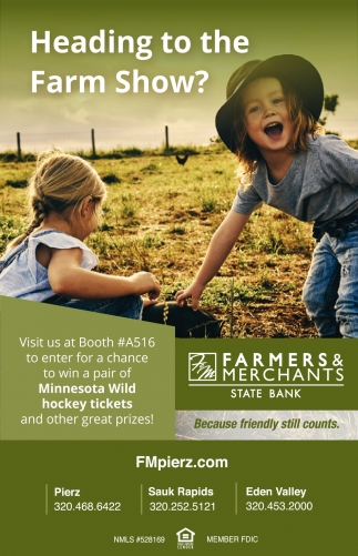 Heading to the Farm Show?