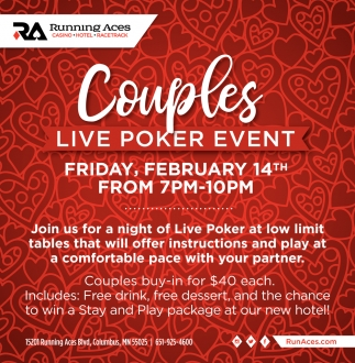 Couples Live Poker Event