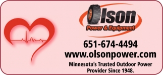 Minnesota's Trusted Outdoor Power Provider Since 1948