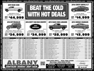 Beat the Cold with Hot Deals