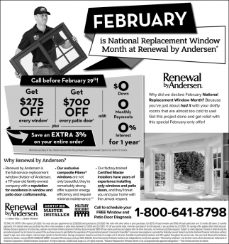 Call Before February 29th!