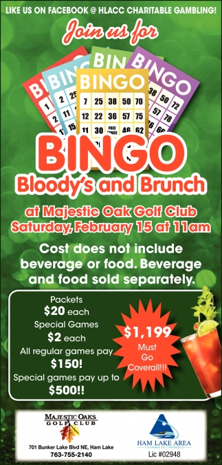 Join Us for Bingo