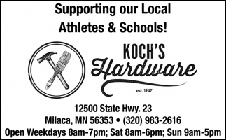 Supporting Our Local Athletes & Schools!
