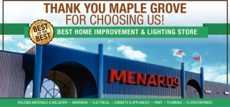 Thank You Maple Grove for Choosing Us!