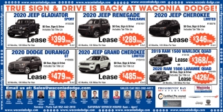 True Sign & Drive is Back at Waconia Dodge!