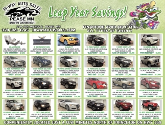Leap Year Savings!