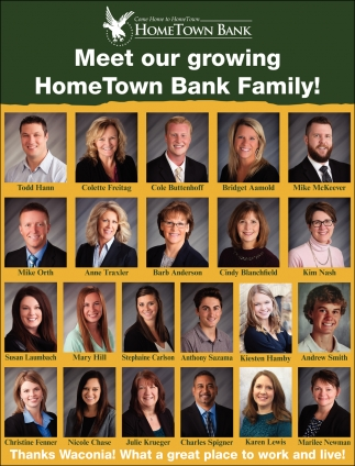 Meet Our Growing HomeTown Bank Family!