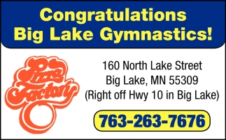 Congratulations Big Lake Gymnastics!
