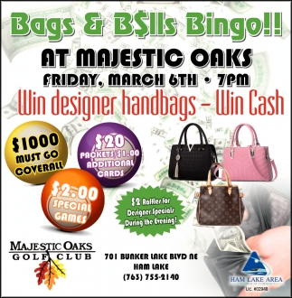 Win Designer Handbags - Win Cash