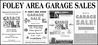 Foley Area Garage Sales