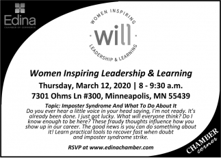 Women Inspiring Leadership & Learning