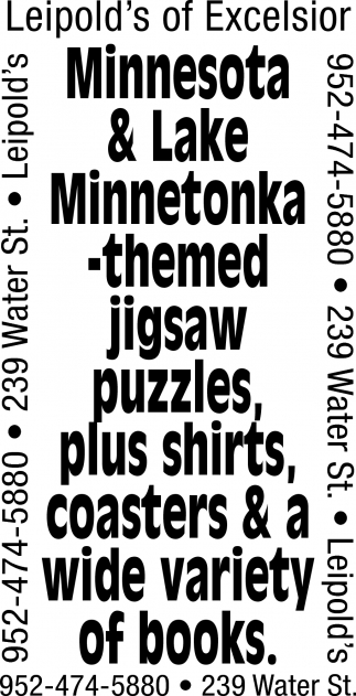 Minnesota & Lake Minnetonka - Themed Jigsaw Puzzles