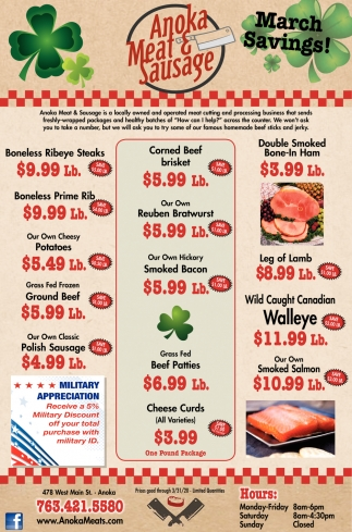 March Savings!