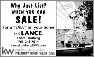 Why Just List? When You Can Sale!