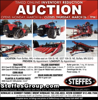Timed Online Inventory Reduction Auction