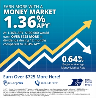 Earn More with a Money Market