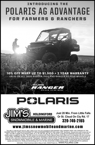 Introducing the Polaris AG Advantage for Farmers & Ranchers