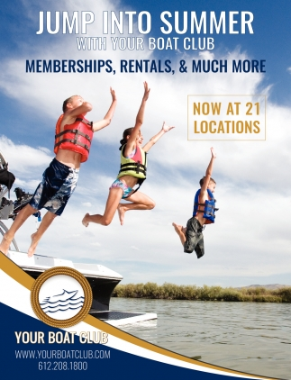 Jump Into Summer with Your Boat Club