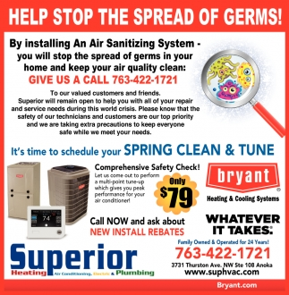 Help Stop the Spread of Germs!