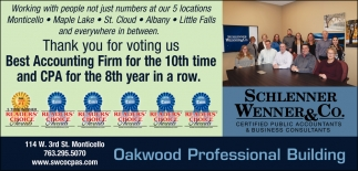 Thank You for Voting Us Best Accounting Firm for the 10th Time and CPA for the 8th Year in a Row