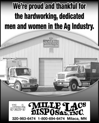 We're Proud and Thankful for the Hardworking, Dedicated Men and Women in the Ag Industry