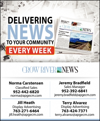 Delivering News to Your Community Every Week