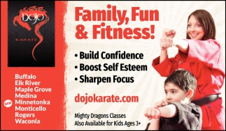 Family, Fun & Fitness!