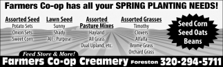 Farmers Co-op Has All Your Spring Planting Needs!
