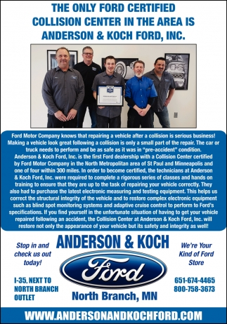 We're Your Kind of Ford Store