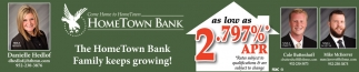 The HomeTown Bank Family Keeps Growing!