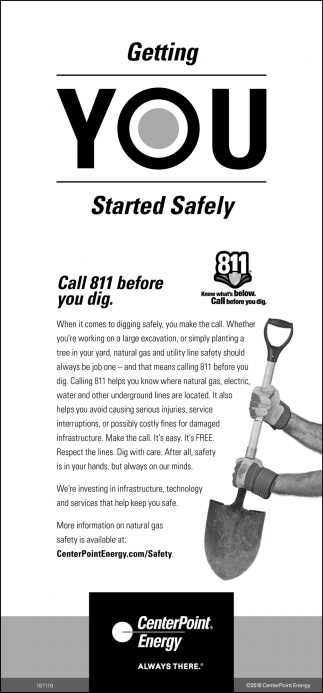 Getting You Started Safely