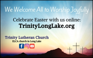 We Welcome All to Worship Joyfully