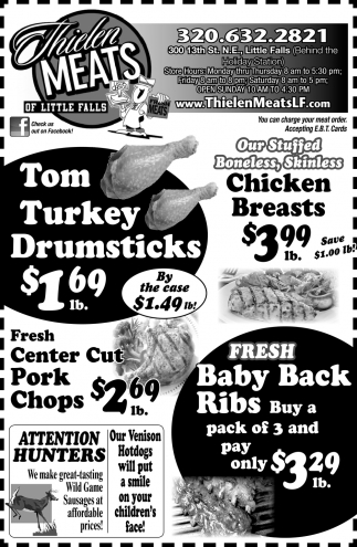 Tom Turkey Drumsticks